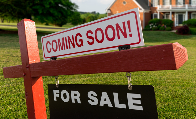 Coming soon for sale sign